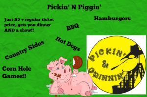Pickin' N Piggin' @ Badgett Playhouse | Grand Rivers | Kentucky | United States