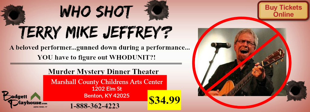 ROAD SHOW- Murder Mystery @ Benton Performing Arts Center