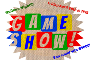 JUST ADDED!!--The Game Show- Quilters Night @ Badgett Playhouse | Grand Rivers | Kentucky | United States