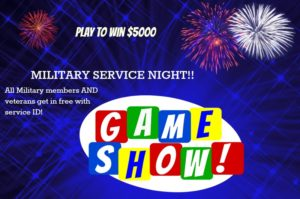 GAME SHOW- RED, WHITE & BLUE @ Badgett Playhouse | Grand Rivers | Kentucky | United States